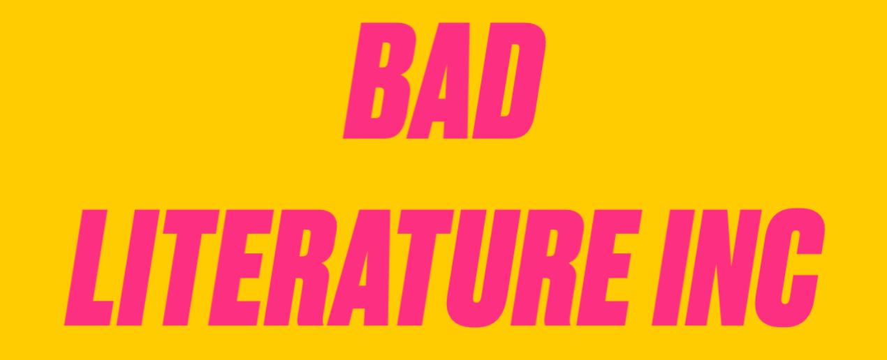 641b8c27d5 Bad Literature Inc. - E' Vero. E' giornalismo. E' Gonzo, bellezza.